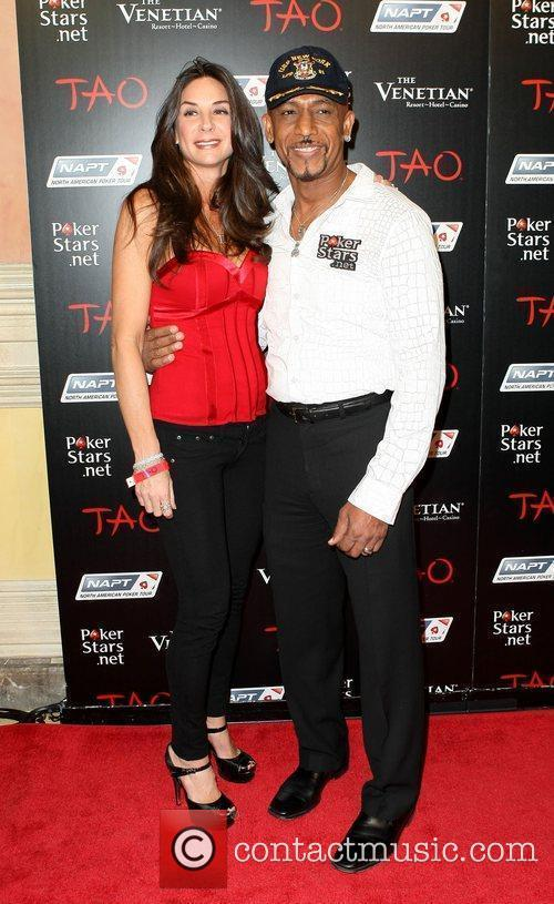 Montel Williams and wife Tara Fowler Celebrities at...