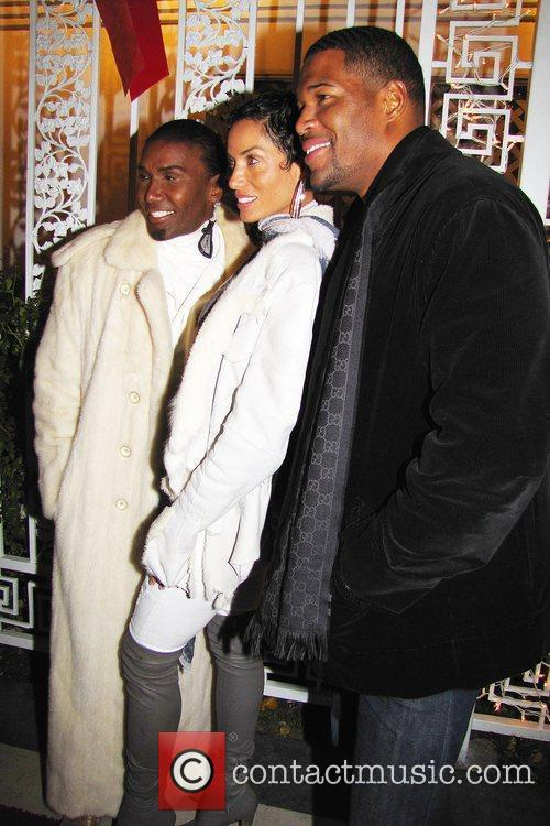 Michael Strahan and Nicole Murphy and Norwood Young...