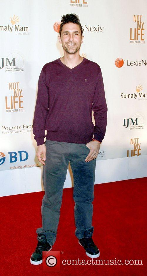 Ethan Zohn The Premiere of 'Not My Life'...