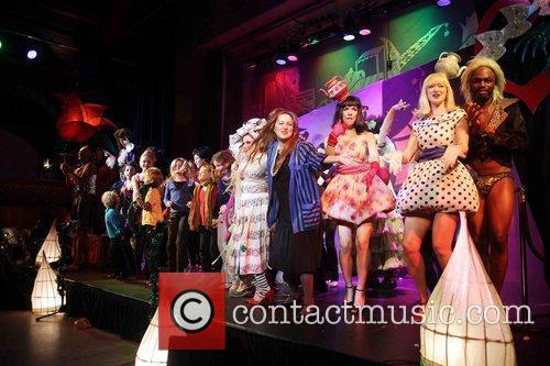 The Notting Hill Pantomime 2009 on stage at...
