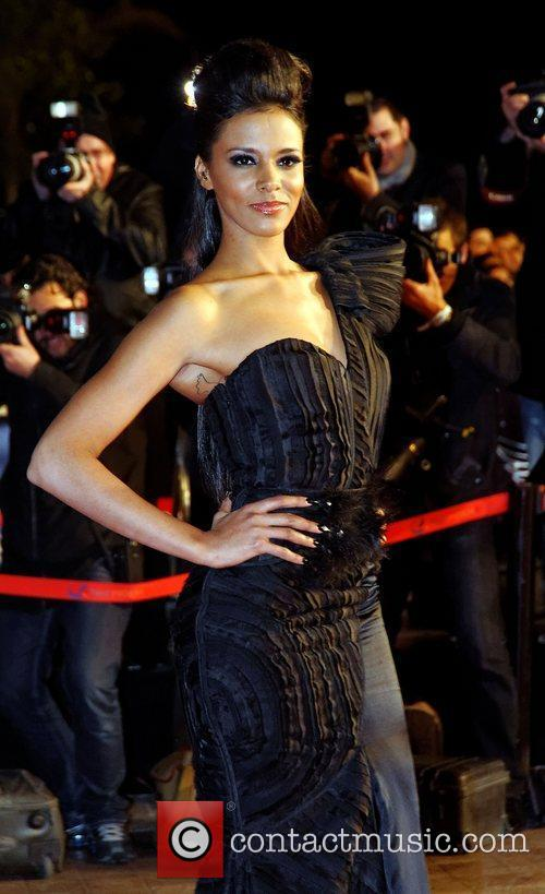 Shy'm NRJ Music Awards Ceremony - Arrivals Cannes,...