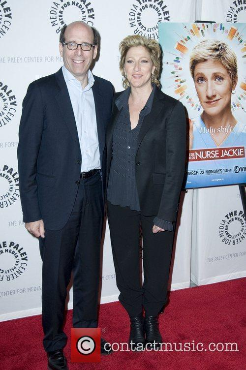 Eddie Falco (R) and Guest The Paley Center...