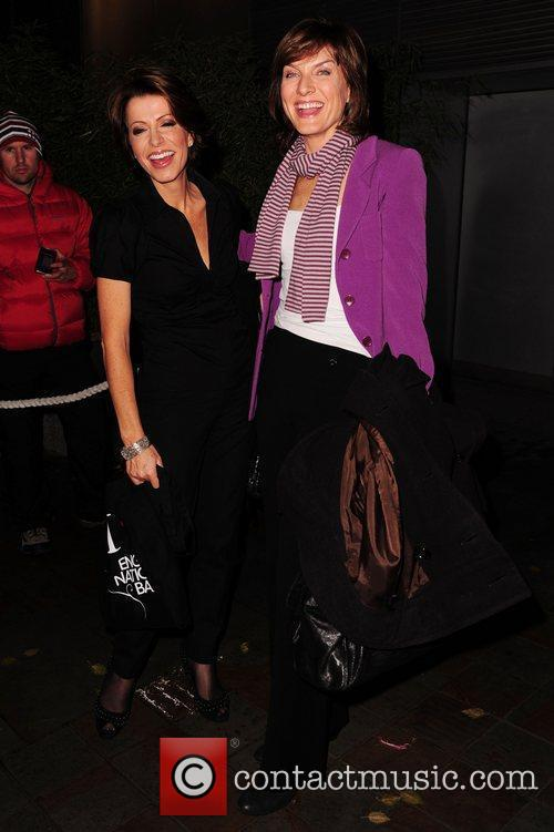 Natasha Kaplinsky and Fiona Bruce 3