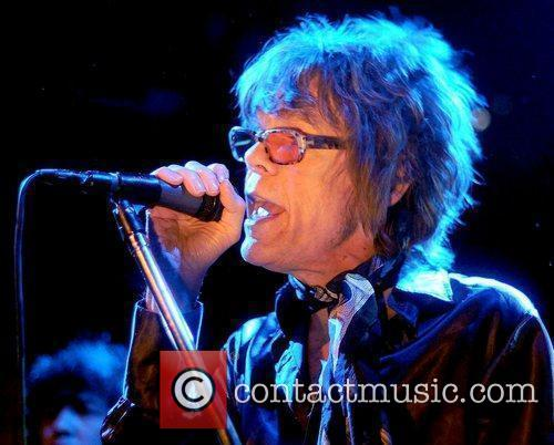 New York Dolls performing live in concert at...
