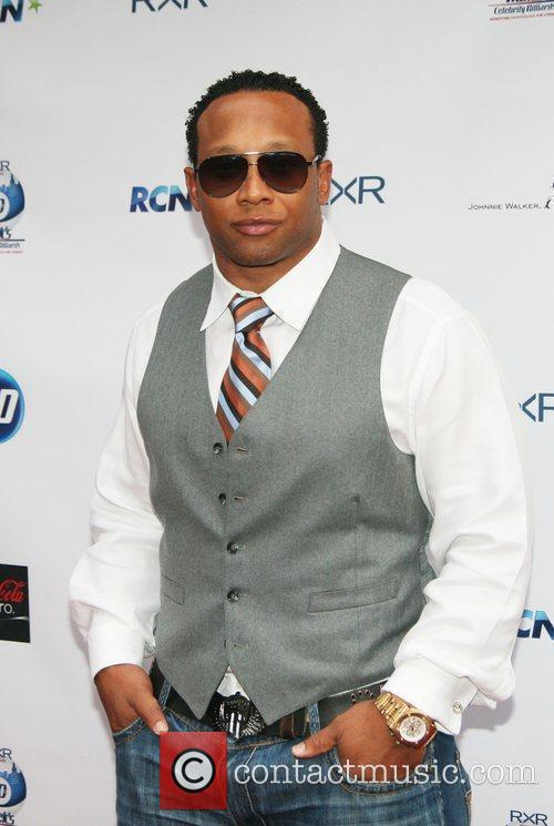 Former NFL Player Jamal Anderson  NY Giants...
