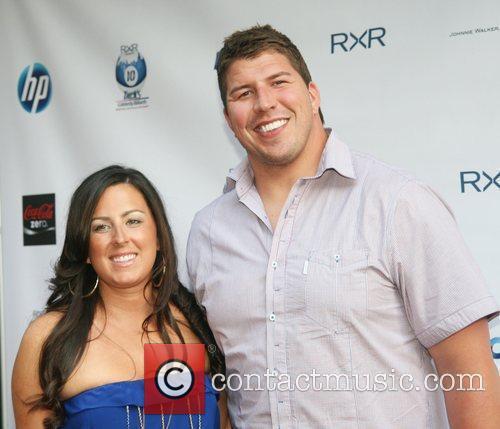 Nicole and NY Giants Dave Diehl NY Giants...