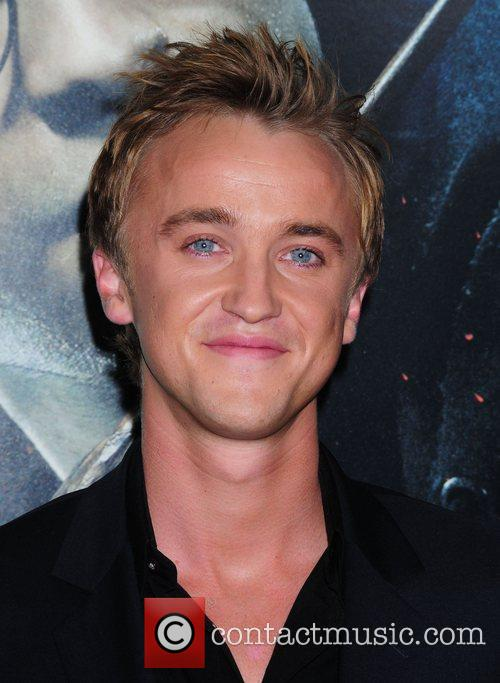 tom felton and jade kissing. Tom Felton and Harry Potter