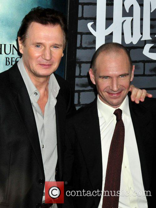 Liam Neeson, Harry Potter and Ralph Fiennes