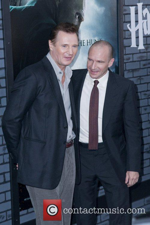 Liam Neeson, Harry Potter and Ralph Fiennes 6
