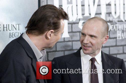 Liam Neeson, Harry Potter and Ralph Fiennes 10