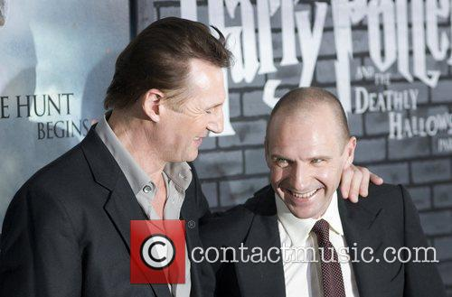Liam Neeson, Harry Potter and Ralph Fiennes 8