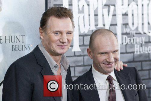 Liam Neeson, Harry Potter and Ralph Fiennes 9
