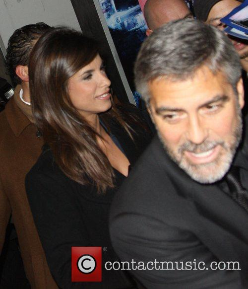 George Clooney and Elisabetta Canalis 2