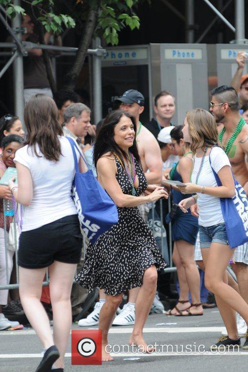 Bethernny Frankel 41st Annual NYC Gay Pride March...