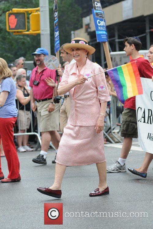 Carlolyn Maloney 41st Annual NYC Gay Pride March...