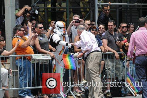 Chuck Schumer 41st Annual NYC Gay Pride March...