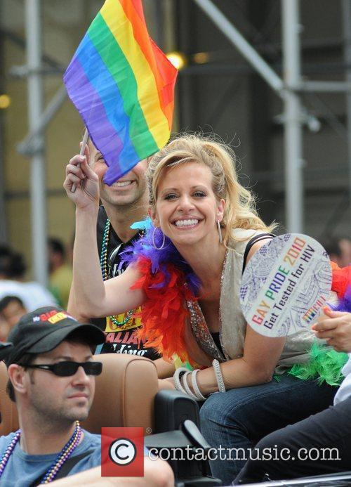 Dina Manzo 41st Annual NYC Gay Pride March...
