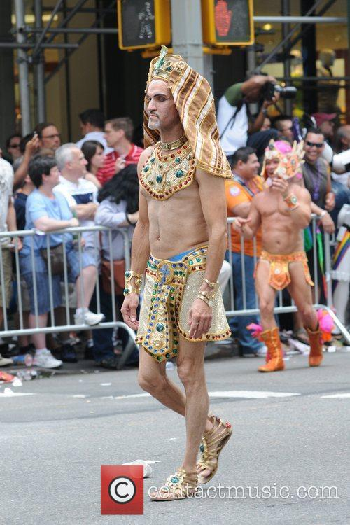 41st Annual NYC Gay Pride March in Midtown...