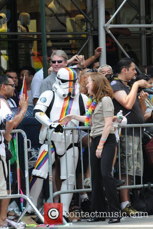 Kathleen Rice 41st Annual NYC Gay Pride March...