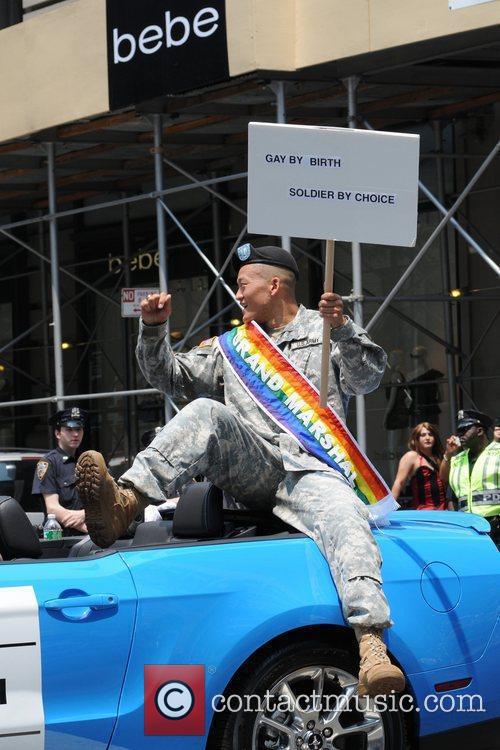 Lt. Dan Choi 41st Annual NYC Gay Pride...