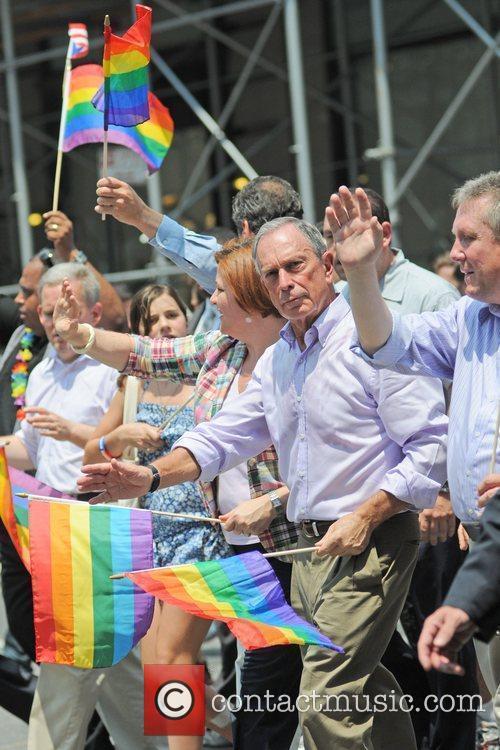 Mayor Michael Bloomberg 41st Annual NYC Gay Pride...