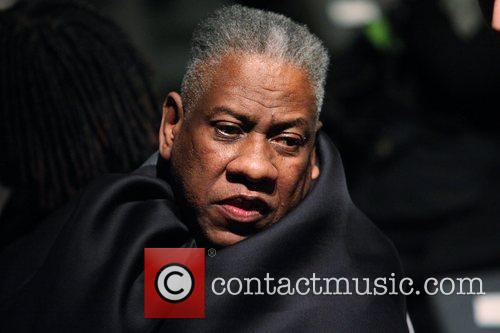 Andre Leon Talley  Mercedes-Benz IMG New York...