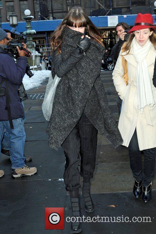 Diane Birch Mercedes-Benz IMG New York Fashion Week...
