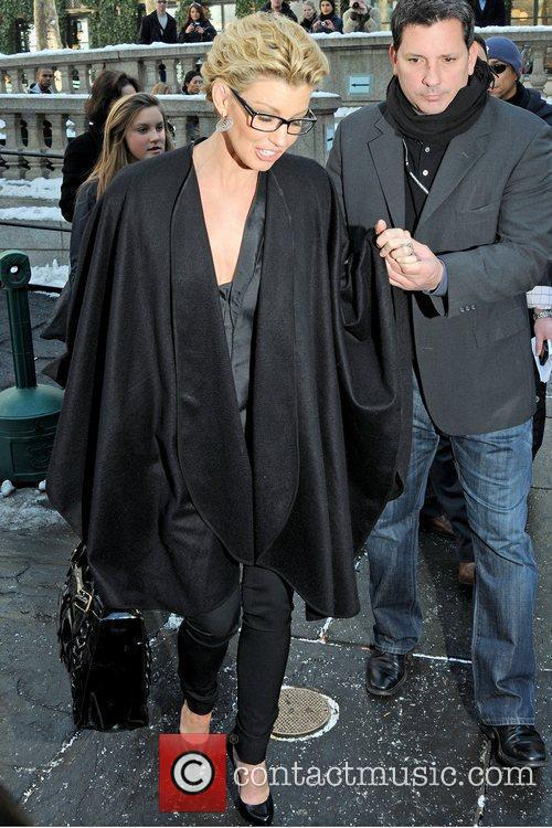 Faith Hill Mercedes-Benz IMG New York Fashion Week...