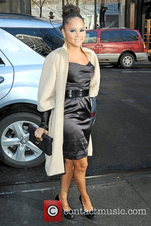 Kat DeLuna Mercedes-Benz IMG New York Fashion Week...