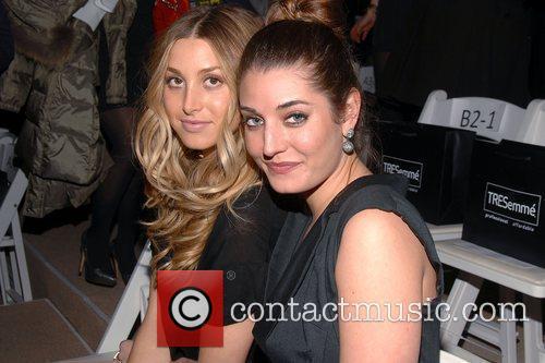 Whitney Port, Samantha Mercedes-Benz IMG New York Fashion...