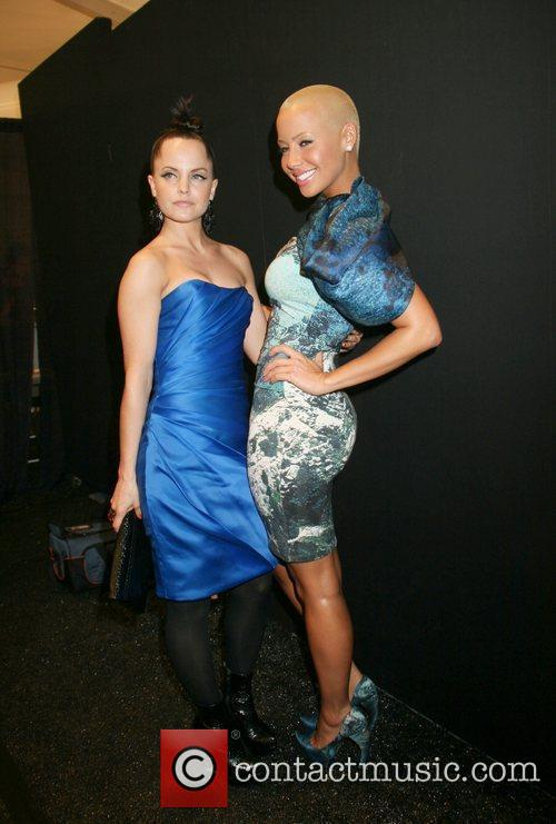 Mena Suvari Mercedes-Benz IMG New York Fashion Week...