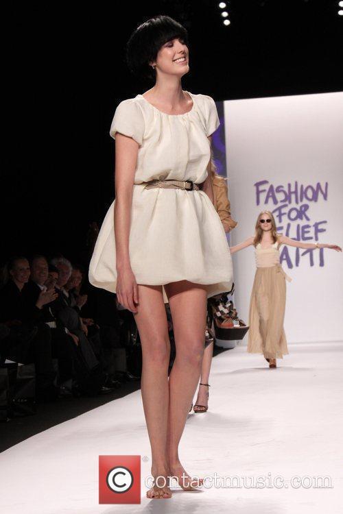 Agyness Deyn Mercedes-Benz IMG New York Fashion Week...