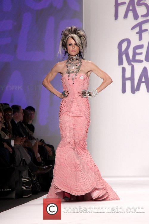 Daphne Guinness Mercedes-Benz IMG New York Fashion Week...