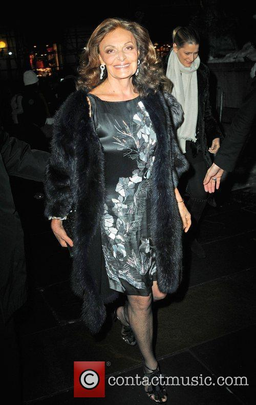 Diane Von Furstenberg Mercedes-Benz IMG New York Fashion...