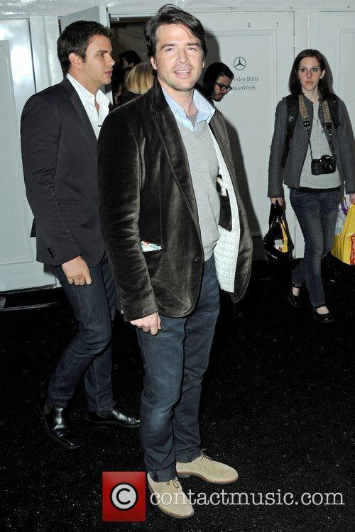 Matthew Settle Mercedes-Benz IMG New York Fashion Week...