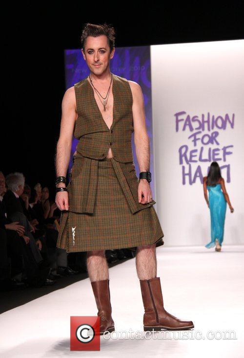 Alan Cumming Mercedes-Benz IMG New York Fashion Week...