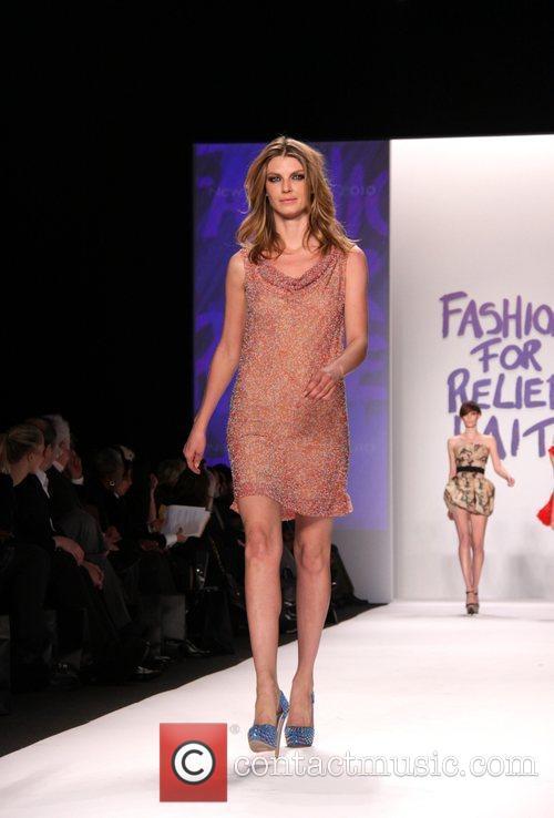Angela Lindvall Mercedes-Benz IMG New York Fashion Week...
