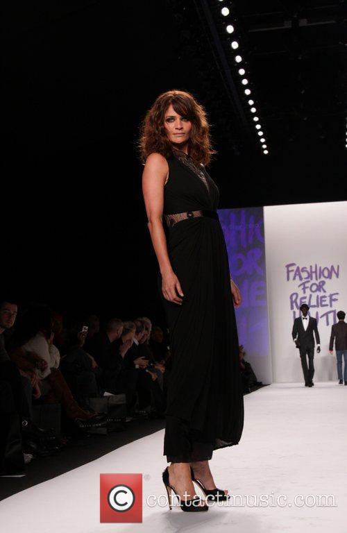 Helena Christensen Mercedes-Benz IMG New York Fashion Week...