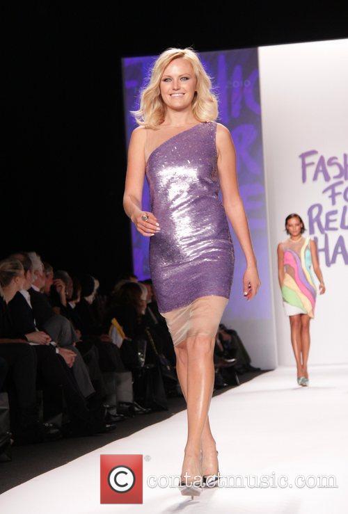 Malin Akerman Mercedes-Benz IMG New York Fashion Week...