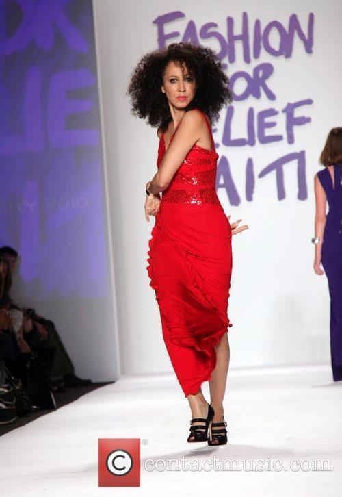 Pat Cleveland Mercedes-Benz IMG New York Fashion Week...