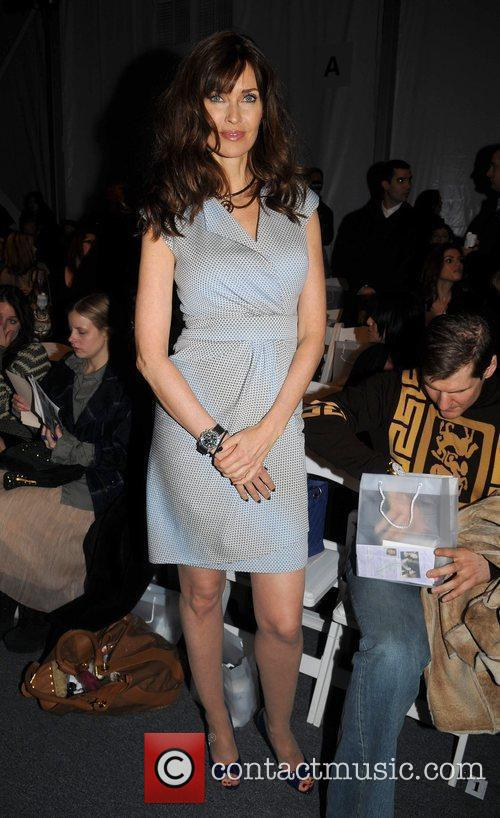 Carol Alt Mercedes-Benz IMG New York Fashion Week...