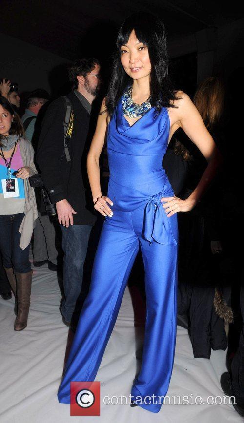 Irina Pantaeva Mercedes-Benz IMG New York Fashion Week...