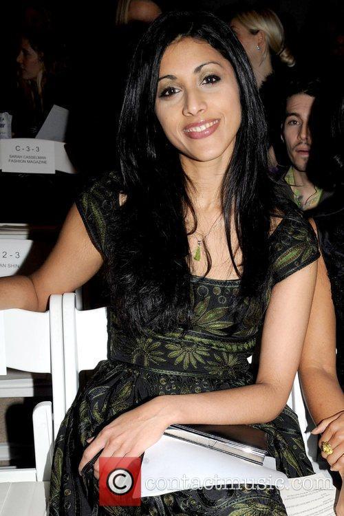 Reshma Shetty Mercedes-Benz IMG New York Fashion Week...