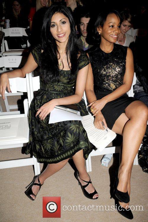 Reshma Shetty and Anika Noni Rose Mercedes-Benz IMG...