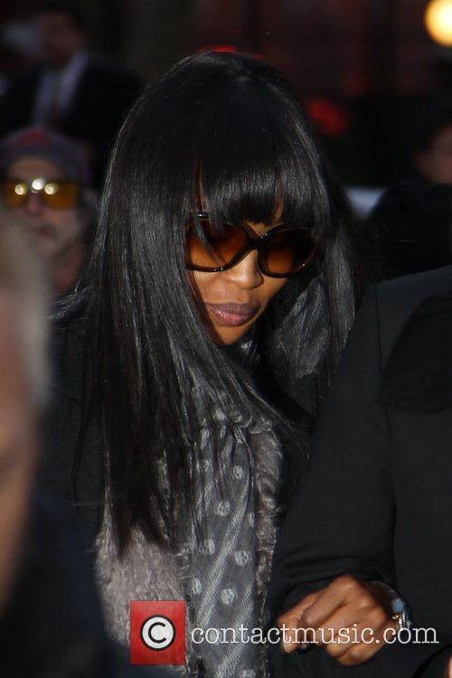 Naomi Campbell Mercedes-Benz IMG New York Fashion Week...