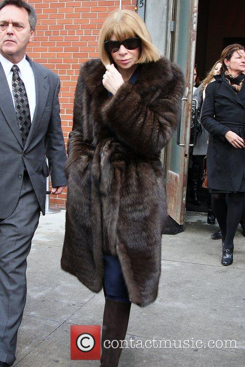 Anna Wintour Mercedes-Benz IMG New York Fashion Week...