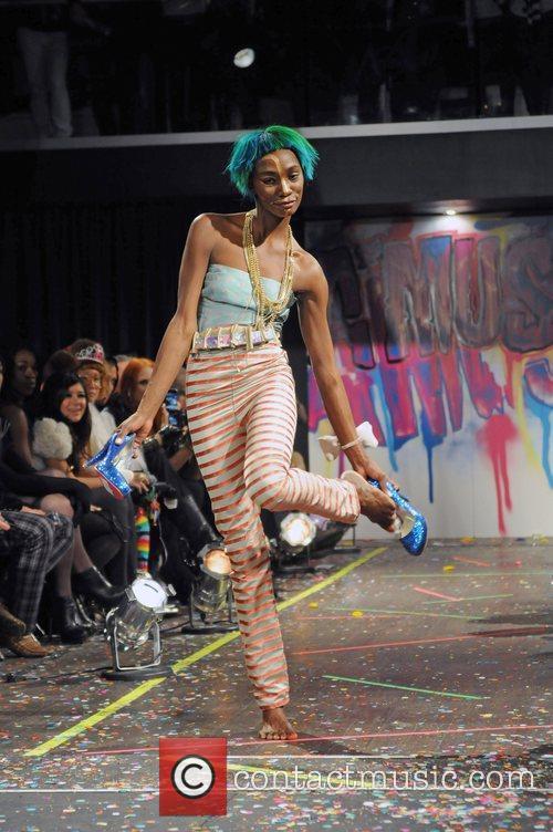 Model  Mercedes-Benz IMG New York Fashion Week...