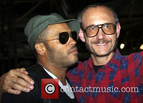 Lenny Kravitz and Terry Richardson Mercedes-Benz IMG New...