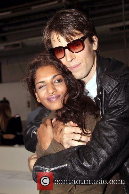 M.I.A. and Ryan McGinley Mercedes-Benz IMG New York...