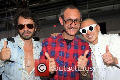 Olivier Zahm, Terry Richardson and Terence Koh Mercedes-Benz...